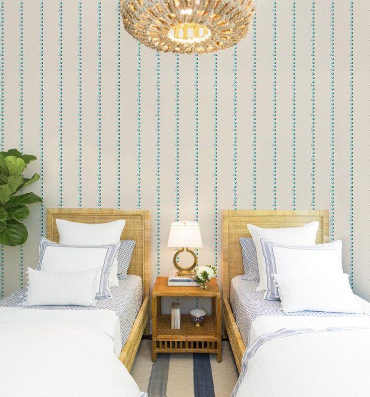 Interior Design Wallpaper Ideas Gray Malin X Mitchell Black
