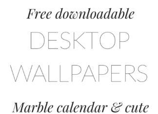 Desktop Wallpaper Free Marble Download Cute Blogger Quote Downloadable