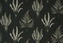 Woodland ferns Fabric DAPGWO204 Designer Fabrics and Wallpapers by Sanderson, Ha...
