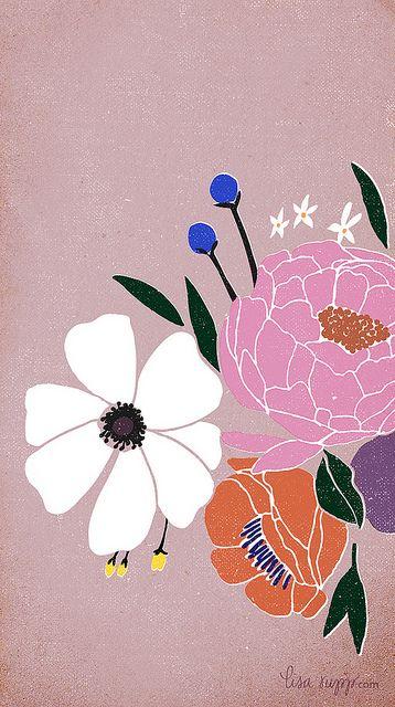 free iphone wallpaper by Lisa Rupp, via Flickr
