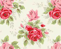 rose white print thumbnail papier cath kidston gratuit