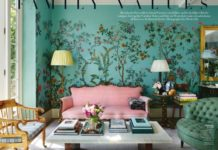 A Fashionable Address: The London Home of Caroline Sieber in Vogue, via La Dolce...