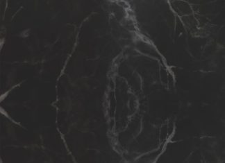 Add a slice of luxe into your home with this faux black marble wallpaper mural. ...