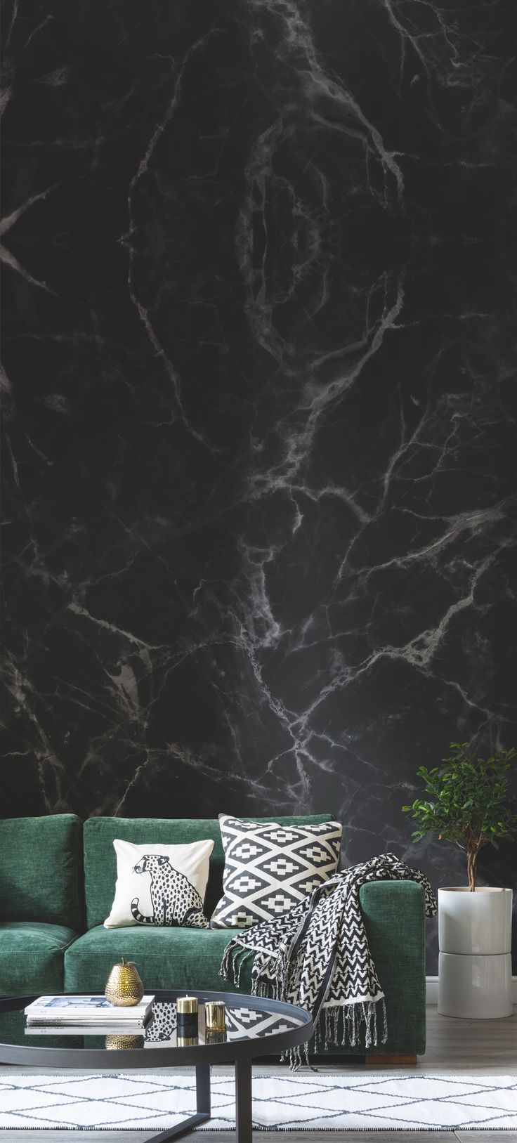 Popular Wallpaper Marble Home Screen - Living-Room-Wallpaper-Inspiration-Add-a-slice-of-luxe-into-your-home-with-this-faux-black-marble-wallpaper-mural  Image_896410.jpg