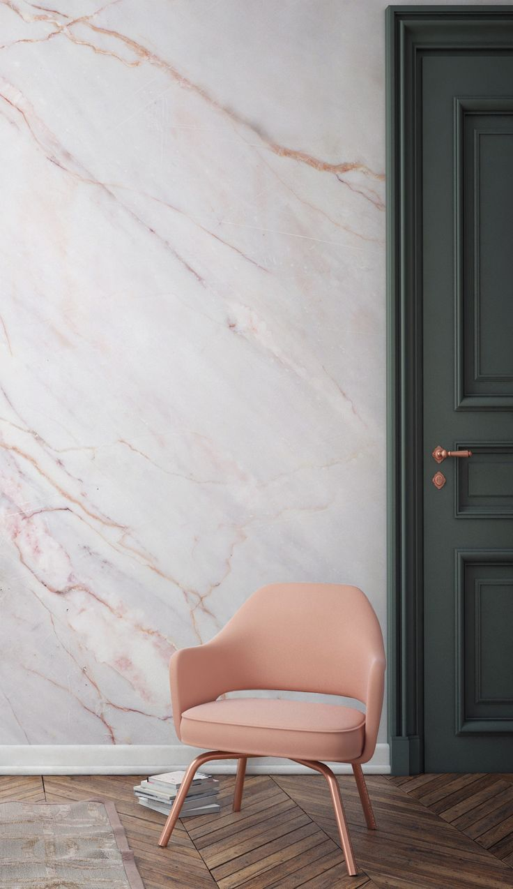 Bring A Touch Of Luxury To Your Home With This Marble Wallpaper Faint Pink Line
