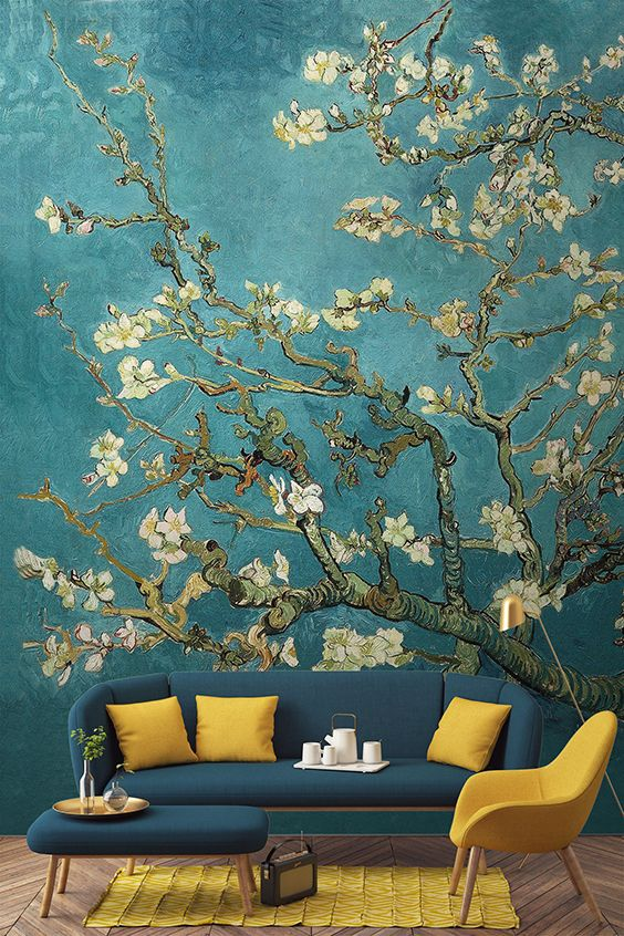 Living Room Wallpaper Inspiration : Make a statement on the walls ...