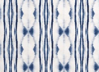 Our Seto Shibori Wallpaper Mural is a design created by our in-house design team...
