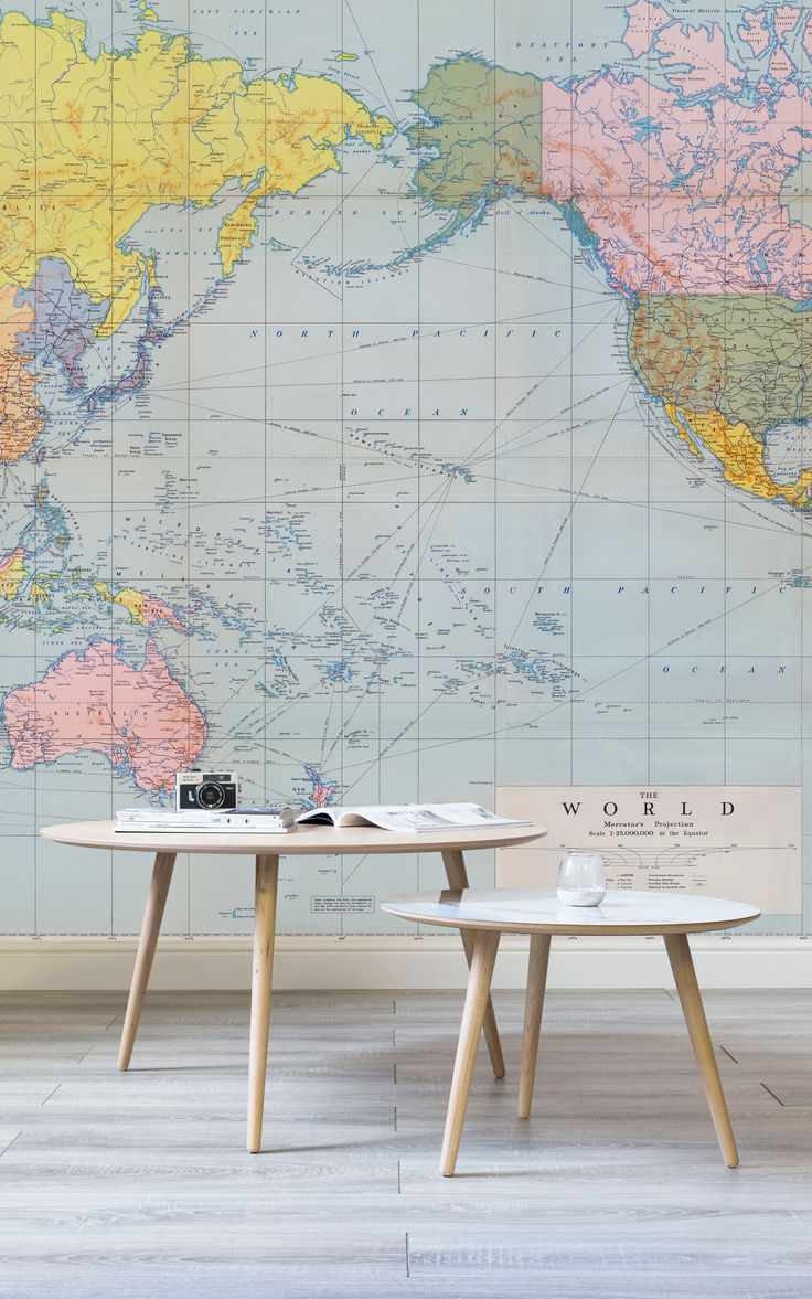kid wallpaper usa mylar. Living Room Wallpaper Inspiration The Perfect Backdrop To Planning Your Next Getaway This World Map Mural Is Brimu With Kids Kid Usa Mylar D