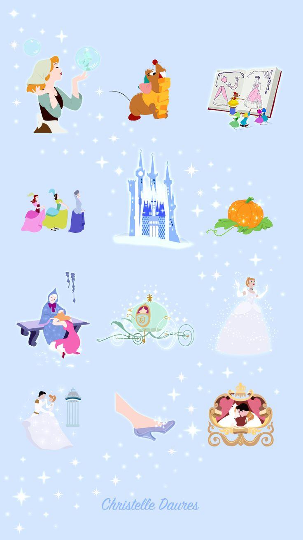 Phone & Celular Wallpaper : Cendrillon - fond d'écrans Disney - Crecre - Cinderella - disney ...