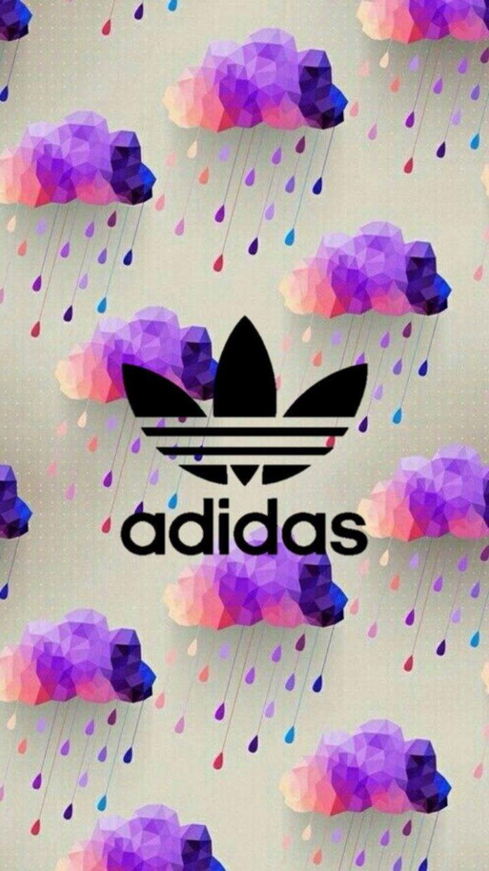 #adidas#pluie#arcenciel