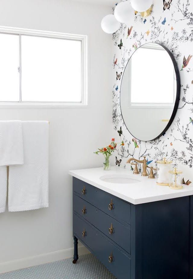 7 Dreamy Bathroom Before and Afters - The Effortless Chic - A lifestyle blog bri...
