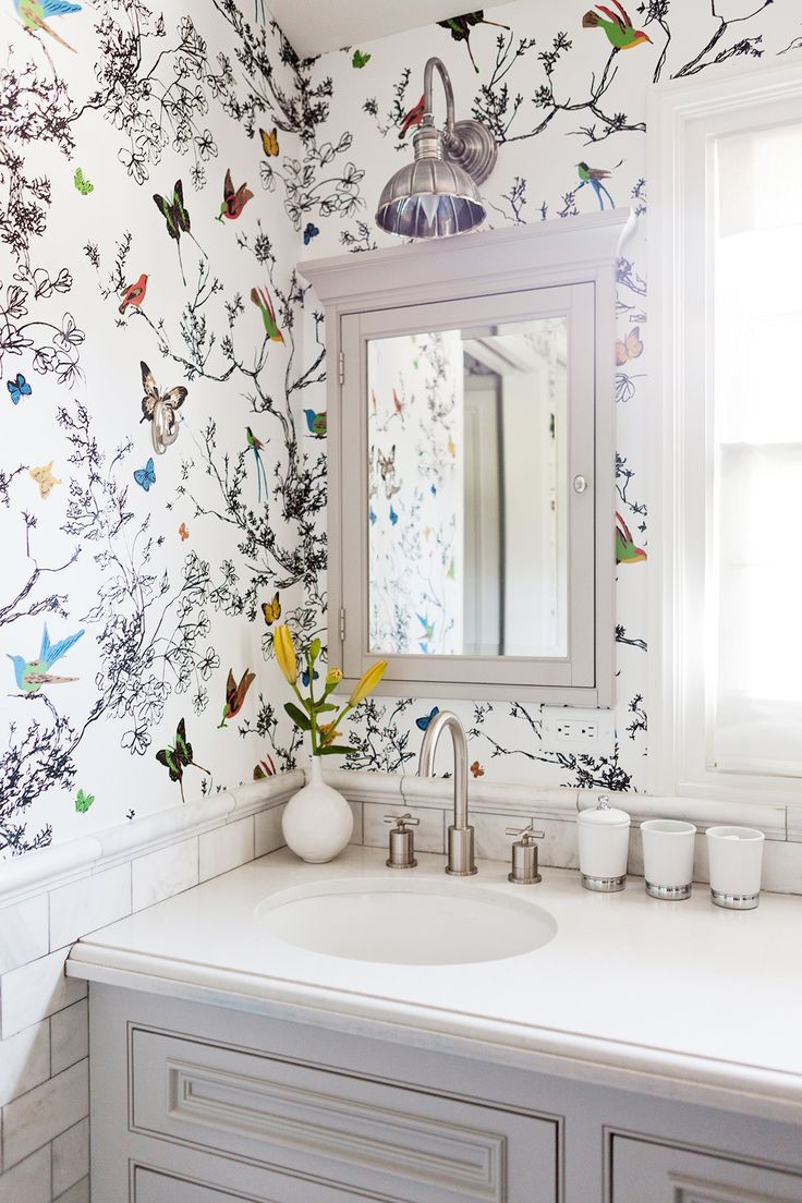 Bathroom Wallpapers Inspiration : Decorating for pretty — The ...
