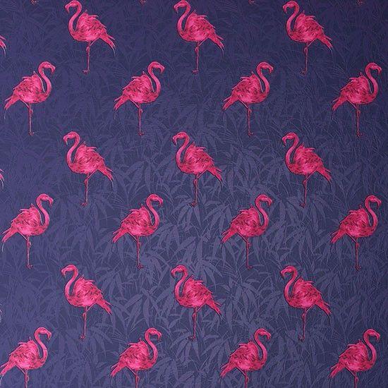 . Bathroom Wallpapers Inspiration   Flamingo wallpaper from Graham