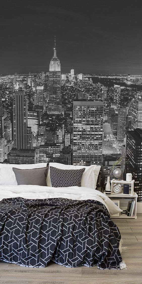 Admire the view from above with this New York city wallpaper.