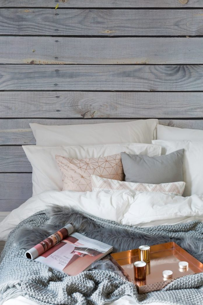 Create a cosy interior this winter, the Hygge way. Using natural textures such a...