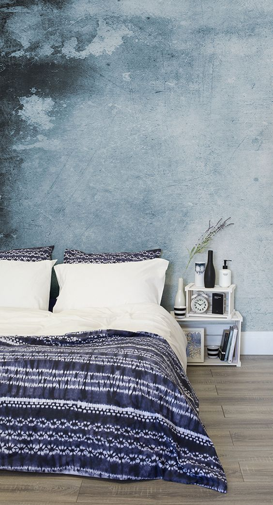 Falling in love with everything watercolour? This wallpaper design is both styli...