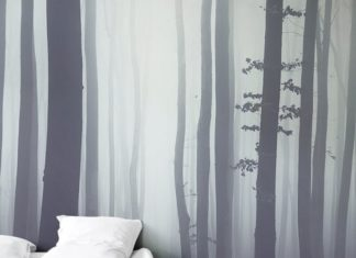 Forest murals help to bring natural beauty right into your home. Create a comfor...