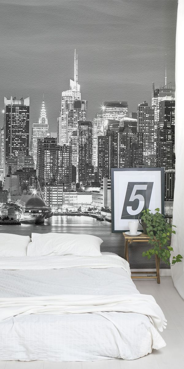In love with New York city? This awe-inspiring skyline is captured elegantly and...
