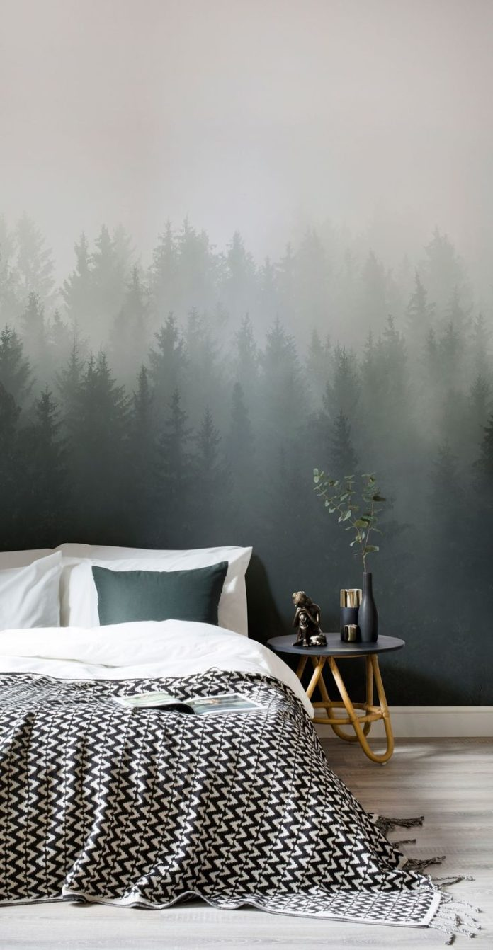 One of the biggest trends in wall design, ombre fades are pleasing to both the e...