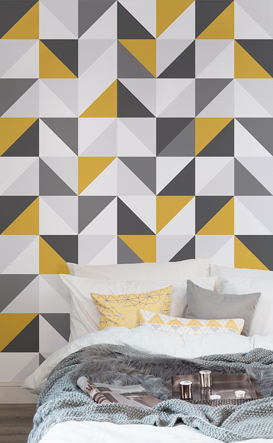 What's so great about yellow and grey colour schemes? The happy sunshine yel...