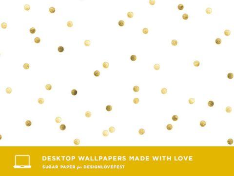 Desktop Wallpaper by Sugar Paper for DESIGNLOVEFEST