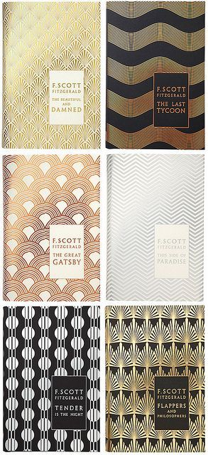 Great use of art to provide a unique identity to each book. Thanks to the type &...