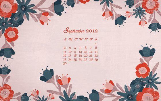 Desktop Wallpaper : September 2012 Desktop, iPhone & iPad ...
