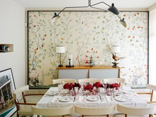 Interior Design Wallpaper Ideas : 7 Unexpected Ways to Use Wallpaper ...