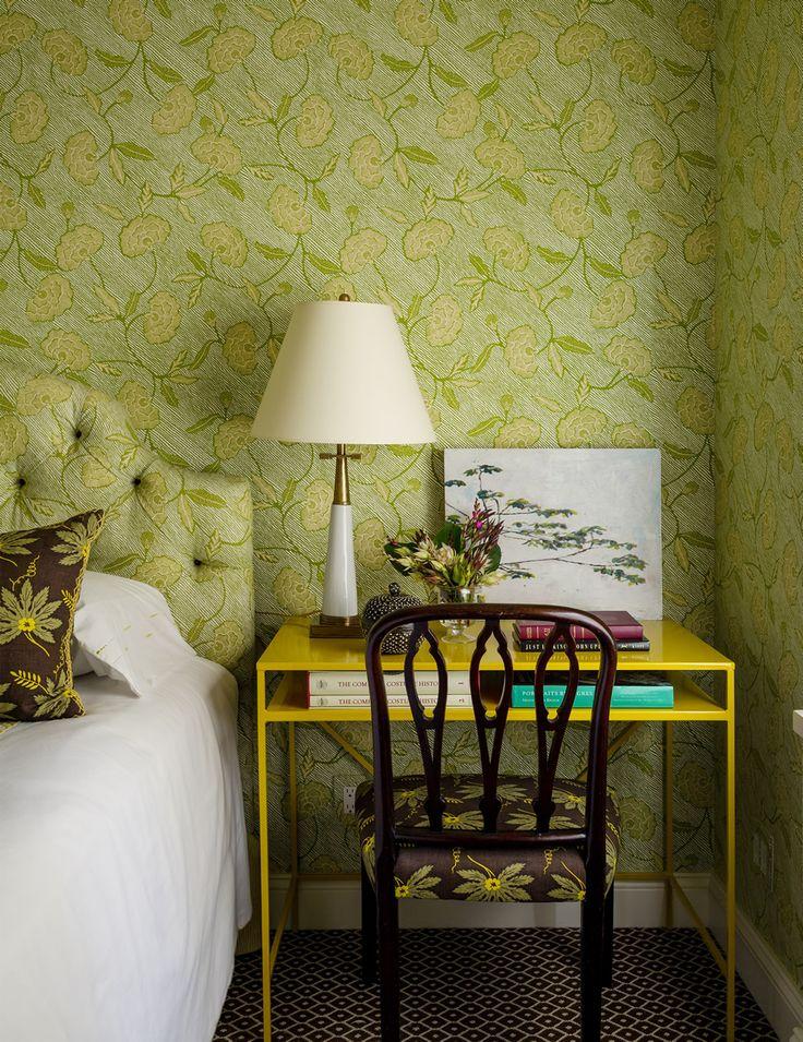 Interior Design Wallpaper Ideas China Seas Flores II Outdoor Pillows