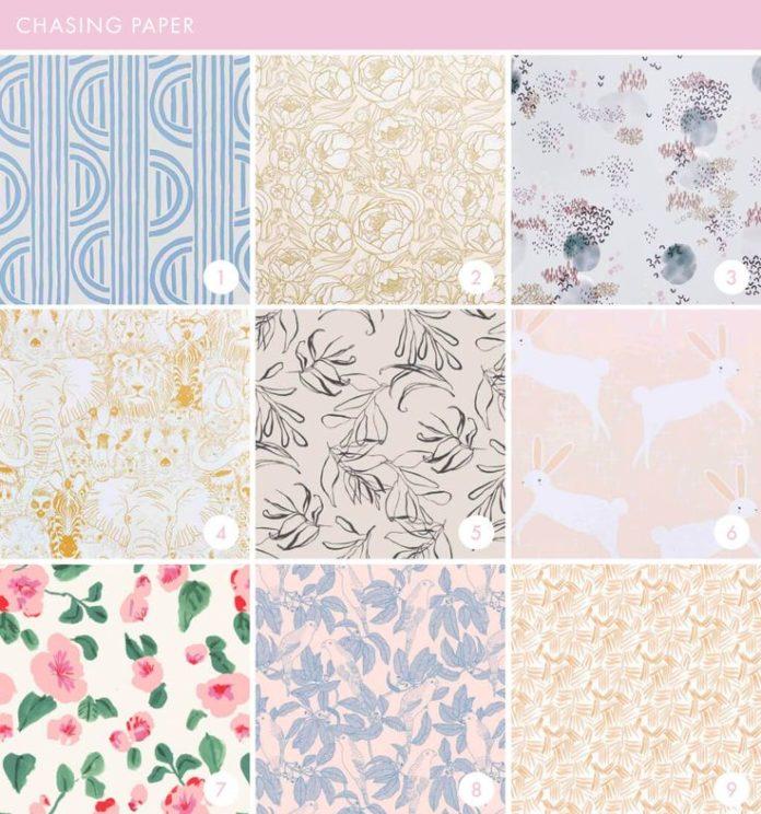 Emily Henderson Online Wallpaper Roundup Chasing Paper
