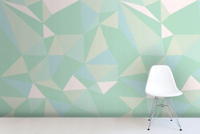 mint-geometric-wallpaper-mural