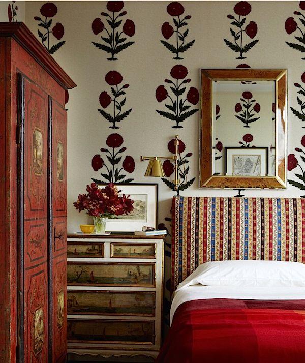 Interior Design Wallpaper Ideas : robert couturier in elle decor – Google Search