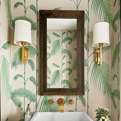 Interior Design Wallpaper Ideas : Tropical & Tailored ...