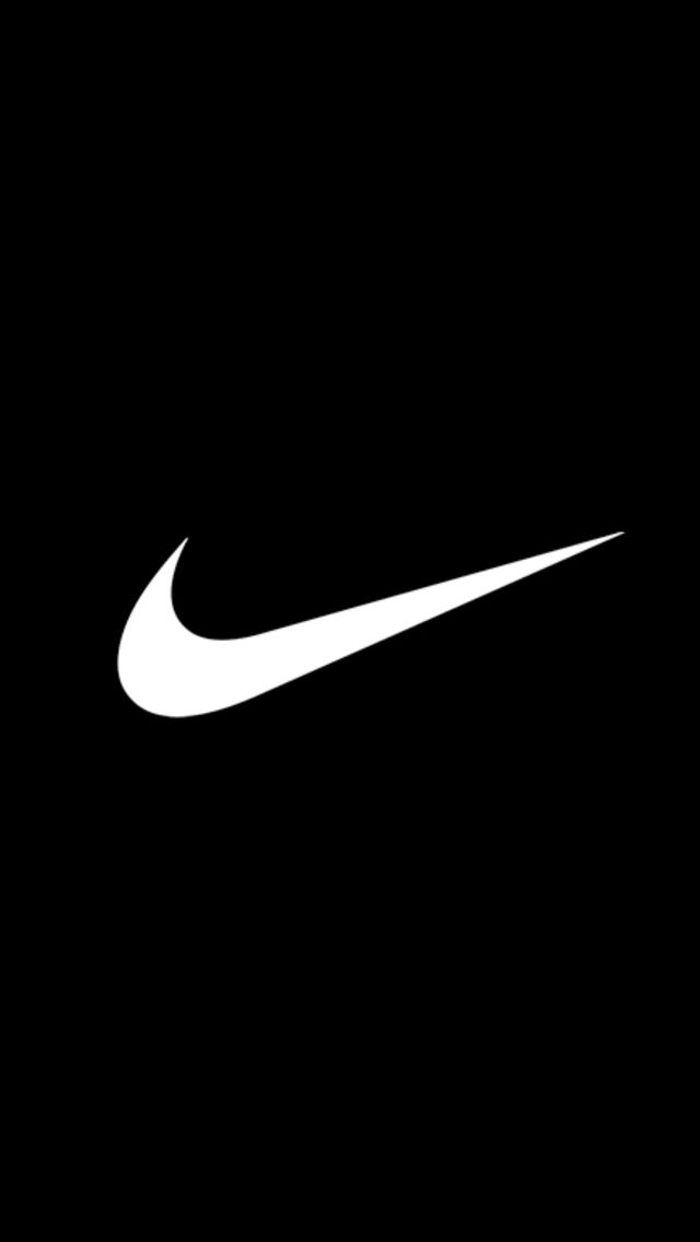 Iphone Wallpaper Awesome Basic Nike Logo Wallpaper By