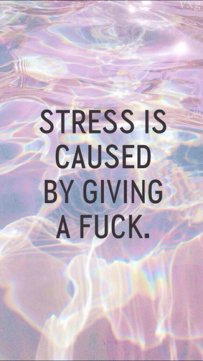 Quote pastel grunge stress iPhone wallpaper Lockscreen background