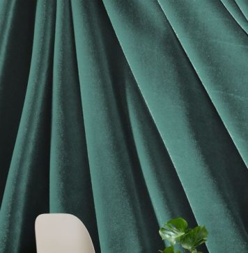 Create a unique and luxurious space with the Emerald Velvet Effect Mural Wallpap...