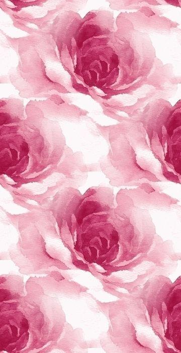 iPhone Wallpaper gorgeous watercolor rose print... - centophobe.com/... -