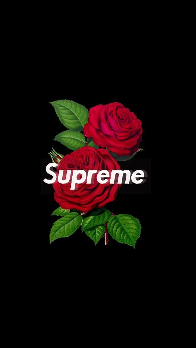 #supreme #rose #wallpaper #iphone  image by Wallpaper ✷ Factøry . Discover al...