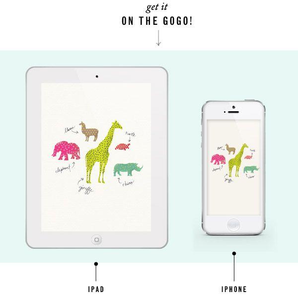 Adorable Kids Inspired IPad IPhone Free Desktop Wallpaper Background