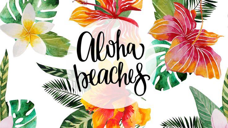 Desktop Wallpaper Aloha Beaches