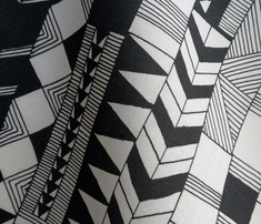 Black and white fabric. Spoonflower.com