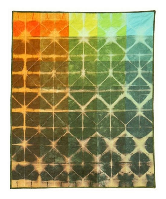Kim Eichler-Messmer - Hand dyed quilts.