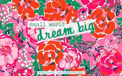 Lilly Pulitzer A Thing Called Love-Dream BIG!