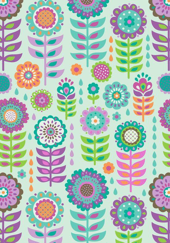 Pop-up petals Canvas Print by Silvia Dekker | Society6