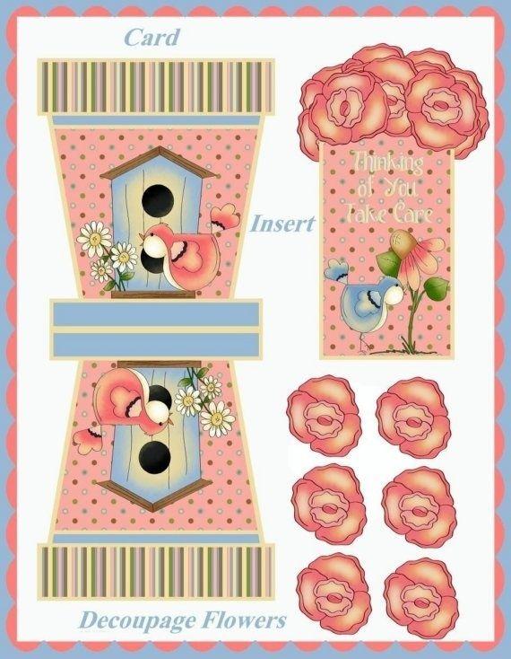 flower pot cards by SAburns