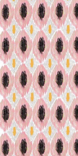Desktop Wallpaper Ikat Type Pink