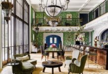 Tour A Sonoma Valley Lake House Rippling with Patterns and Color - ELLEDecor.com