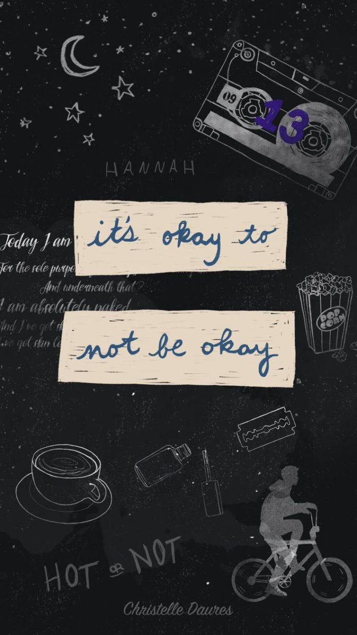 13 reasons Why – fond d'écran – Crecre - wallapaper - iphone - smartphone...