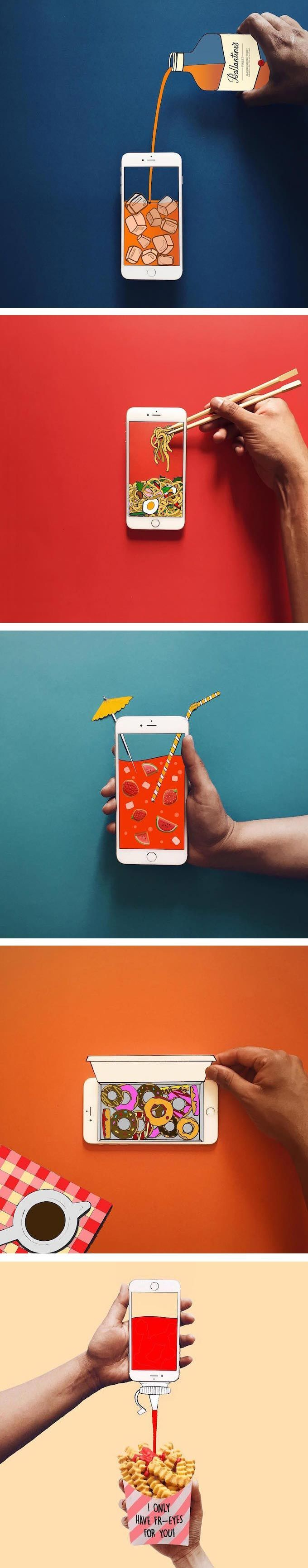 Anshuman Ghosh creates a quirky world using his iPhone. With seamless illusions,...