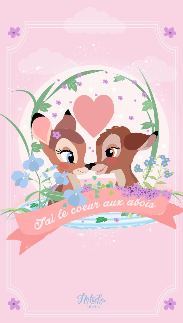 Bambi Find More Cute Disney Wallpapers For Your IPhone Android Wa